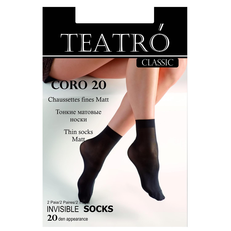 TEATRO носки жен. T-CORO 20 T-CORO20